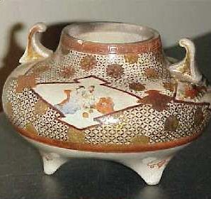 Japan Porcelain Pot Incense burner