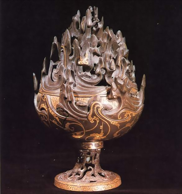 China Bronze Mountain/Boshanlu Incense burner