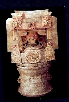 Guatemala Ceramic  : Human Incense burner