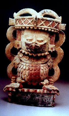 Guatemala Ceramic Animal Incense burner