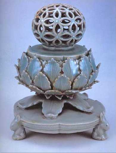 Korea Porcelain Pot Incense burner