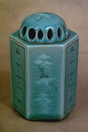 Korea Ceramic Box Incense burner