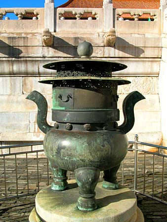China Bronze Urn Incense burner