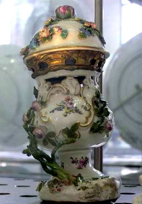 Germany Porcelain Cassolette Incense burner