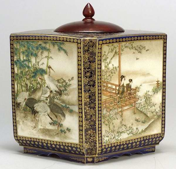 Japan Ceramic Box Incense burner