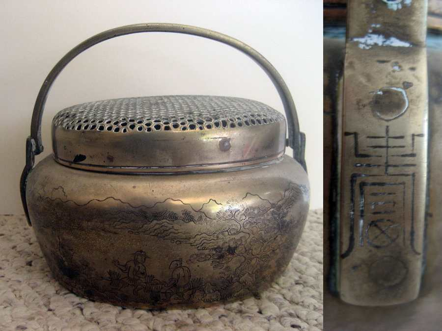China Metal Pot Incense burner