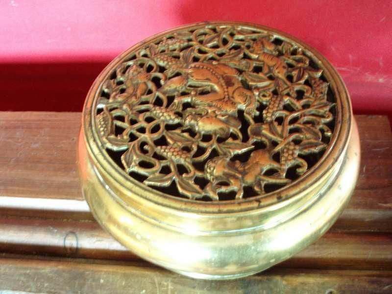 Metal Bowl Incense burner