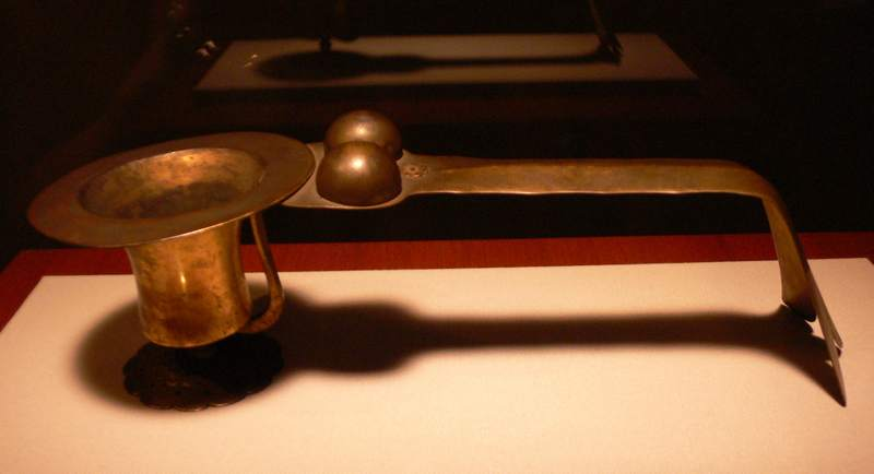 Japan Brass Pipe Incense burner