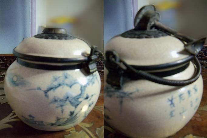 Asia Ceramic Pot Incense burner