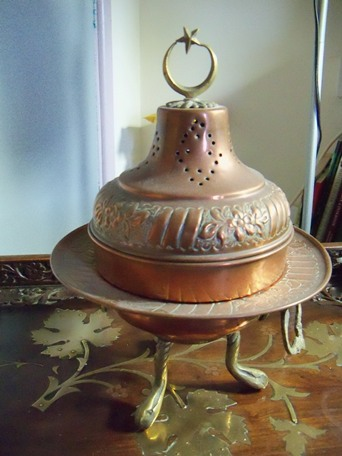 Turkey Copper Pot Incense burner