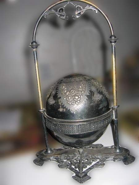 Brass Sphere Incense burner