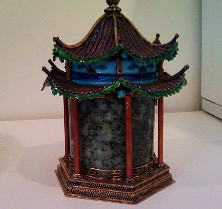 Asia  Building : Pagoda Incense burner