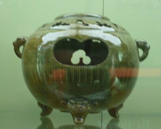 Japan Ceramic Brazier Incense burner