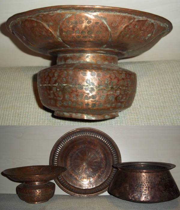 Sultanate of Oman Copper Brazier Incense burner